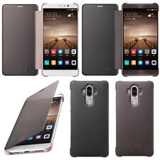 New Luxury Smart Window Sleep Wake UP Flip Leather Case Cover for Huawei Mate 9