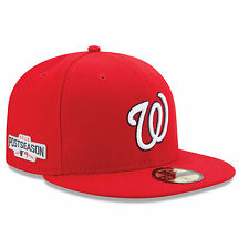 WASHINGTON NATIONALS MLB 2016 POST SEASON PATCH NEW ERA 59/FIFTY FITTED HAT NWT