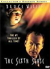 The Sixth Sense DVD 2000 Collector's Series Bruce Willis Haley Joel Osment