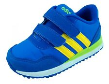 Adidas Infants RUNNEO V jogger Comfort Velcro trainers F37978 Royal Blue UK 5-6k