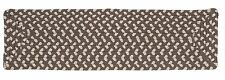 Tiburon Indoor Outdoor Rectangle Braided Stair Tread, Misted Gray ~ Made in USA