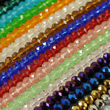 Wholesale 6/8mm New 22 Colors Crystal Loose Beads Free Shipping