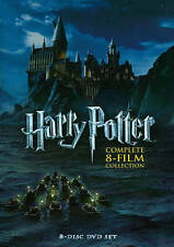 HARRY POTTER COMPLETE 8 FILM COLLECTION (DVD, 2011, 8-Disc Set)