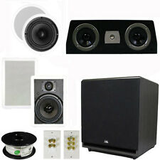 "5.1 Home Theater 6.5"" Speaker Set, Center, 15"" Powered Sub & More TS65CWC51SET9"