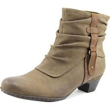Cobb Hill Alexandra Women  Round Toe Leather Brown Ankle Boot