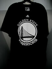 STEPHEN CURRY #30 NBA GOLDEN STATE WARRIORS ADIDAS PITCH BLACK ADULT T-SHIRT NWT