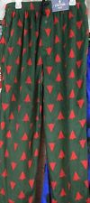 Mens Stafford  fleece Pajama plaid or print pajama bottoms w/ pocket M L XL
