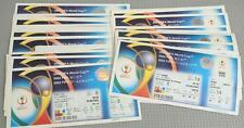 2002 FIFA World Cup - Matches Played in Korea and Japan Unused Tickets (2A)