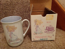 NEW NIB Precious Moments BETH coffee mug   1997