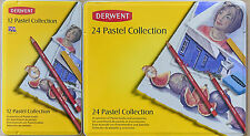 Derwent Pastel Collection Mixed Pastel Material tin metal case NEW made in UK