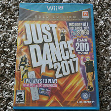 Just Dance 2017 Gold Edition for Wii U - FACTORY SEALED