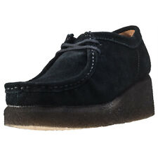 Clarks Originals Peggy Bee Womens Wedges Black New Shoes