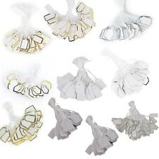 500 Pcs String Tags Gift Tags Luggage Swing Tags Labels Retail Jewellery Price