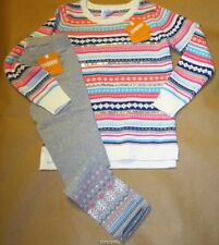 Gymboree Snowflake Fun Fair Isle Stripe Sweater w/Leggings S(5-6), M(7-8) NWT