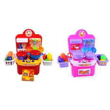 CHILDRENS KIDS KITCHEN COOKING ROLE PLAY PRETEND TOY COOKER GAME SET