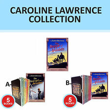 Caroline Lawrence Slave-girl Roman Mysteries Collection Gift Wrapped Set New