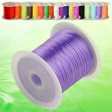 Lot 10/100Yards Elastic Stretch String Thread Cord For Bracelet Jewelry Making
