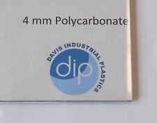 4 mm Clear POLYCARBONATE Sheet Free Post