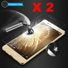 2Pcs 9H Premium Tempered Glass Screen Protector Film Cover For Huawei Cell Phone