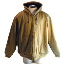 RedHead Brand Co. Workhorse Insulated Duck Utility Jacket, Color: Sand