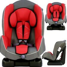 iSafe Group 1 Recliner Carseat Red