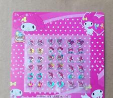 Lot Children Stickers Earring Cartoon Reward Crystal Stickers Reward stick A155