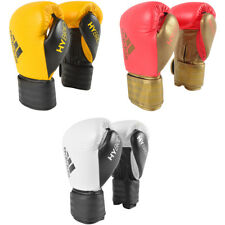 Adidas Hybrid 200 Hook and Loop Leather Training Boxing Gloves