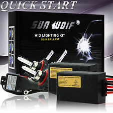 Xenon HID Conversion Kit AC Quick Start Head Light H1 H3 H7 H8 9006 3000-30000K