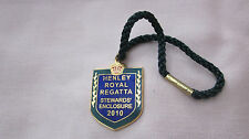 HENLEY ROYAL REGATTA STEWARDS' ENCLOSURE ENAMEL BADGE 2010 No. 8045