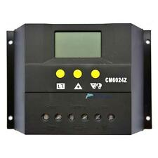 30A 60A LCD display Solar Charge Controller Regulator 12V 24V Light and timer S;