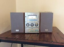 SONY HCD-M90 CD/DVD PLAYER AM FM STEREO CASSETTE PLAYER RECORDER W/REMOTE