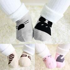 Cute Baby Boys Girls Socks Newborn Infant Toddler Non-Slip Cartoon Cotton Socks
