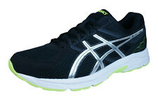 Asics Gel Contend 3 Mens Running Trainers / Shoes - Black Silver