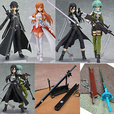 "Japan PVC Anime Figurine ""Sword Art Online II"" Figma Action Figure Series Gift"