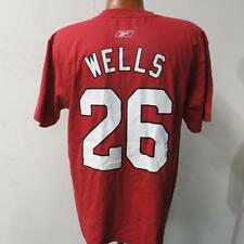 Arizona Cardinals Mens M 2XL Wells #26 Screened Jersey T-Shirt KK 6922 KK 6923