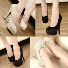 Women Shoes Glitter Gorgeous Wedding Bridal Evening Party Crystal High Heels