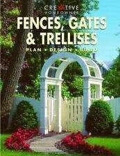 Fences, Gates and Trellises by James Barrett (1997, Paperback)