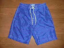 Trunks Surf & Swim Co purple & Blue swim trunks swimwear size S