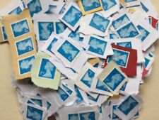 20/500 GB/UK/British 2nd Class UNFRANKED Stamps ON Paper, BLUE, Low Price