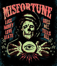 Misfortune by Ian McNiel Haunted Fortune Teller Psychic Giclee Tattoo Art Print