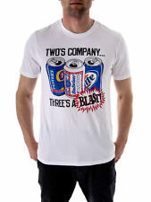 Local Celebrity T-Shirt Tee Shirt white Who´s Company Print short sleeve