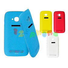SIDE BUTTON + REAR BACK DOOR HOUSING BATTERY COVER CASE FOR NOKIA LUMIA 710