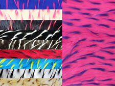 """Faux Fur Long Pile 2 Tone Spike Fabric  / 58"""" Wide / Sold by the yard"""