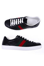 Gucci Shoes Sneaker % Sneaker Bassa ACE Made In Italy Man Blk 386750CWCG0-1070