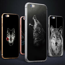 Wolf 3D Print Phone Case Cover for iPhone 6 7 Plus Samsung Galaxy S6 S7 Rapture