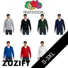 Fruit of the Loom Supercotton Full-Zip Hooded Sweatshirt. 82230R