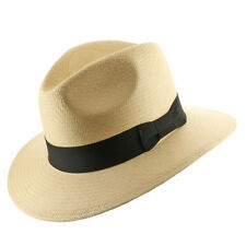 New FEDORA SAFARI Panama Hat NATURAL STRAW Size