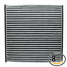 8x Cabin Air Filter for 2002-2006 Toyota Camry, 2004-2008 Toyota Solara