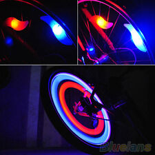 Safety Bright Bicycle Cycling Car Wheel Tire Tyre LED Spoke Light Lamp Hot Sell