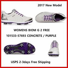 2017 New Ecco Womens Golf Shoes BIOM G2 Free Concrete Purple  EU36 37 38 39 $250